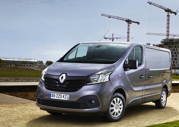Renault Trafic France July 2014