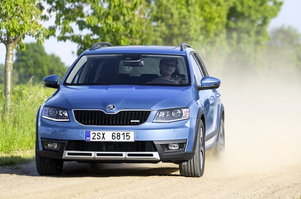 Skoda Octavia Europe July 2014. Picture courtesy of largus.fr