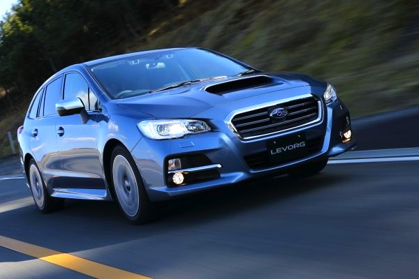 Subaru Levorg Japan July 2014. Picture courtesy of carview.co.jp