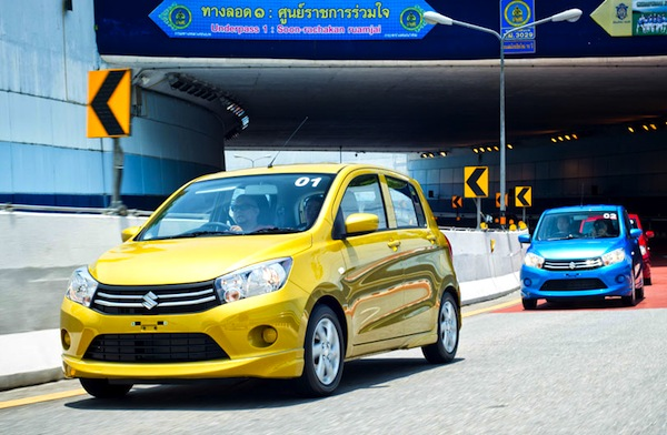Suzuki Celerio Thailand June 2014. Picture courtesy of motortrivia.com