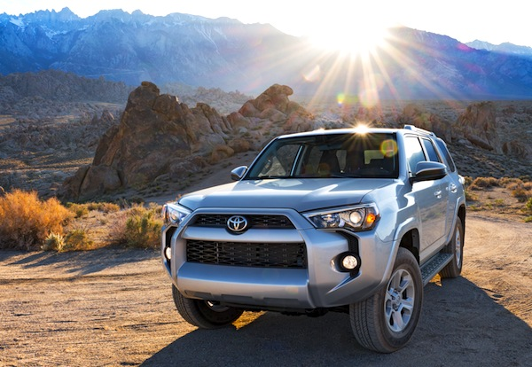 Toyota 4Runner USA July 2014. Picture courtesy of motortrend.com
