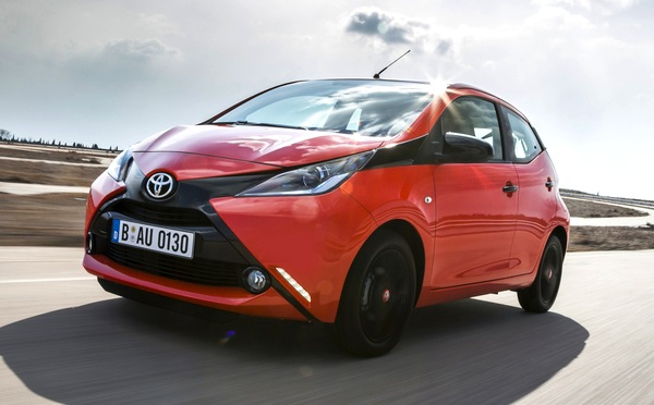 Toyota Aygo Denmark July 2014. Picture courtesy of automobile-magazine.fr