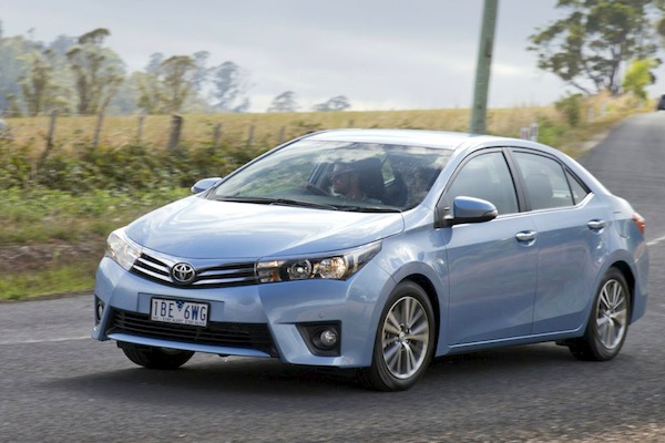 Toyota Corolla Australia July 2014. Picture courtesy of caradvice.com.au