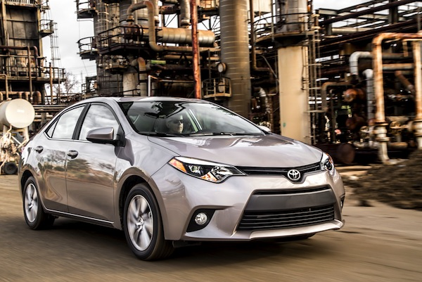 Toyota Corolla USA August 2014. Picture courtesy of motortrend.com