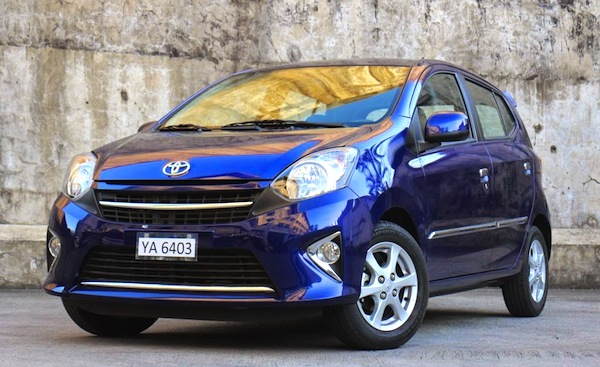 Toyota Wigo Philippines September 2014. Picture courtesy of carguide.ph