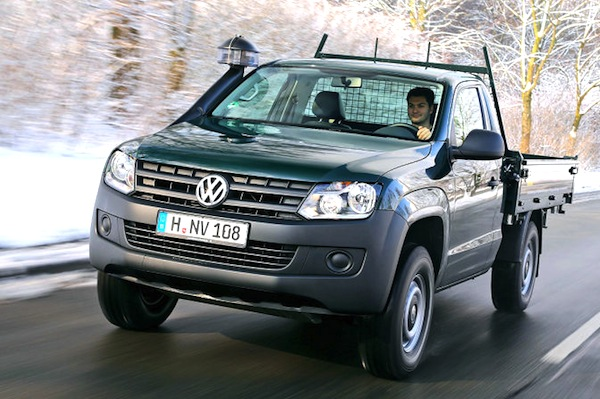 VW Amarok Germany 2013. Picture courtesy of autobild.de