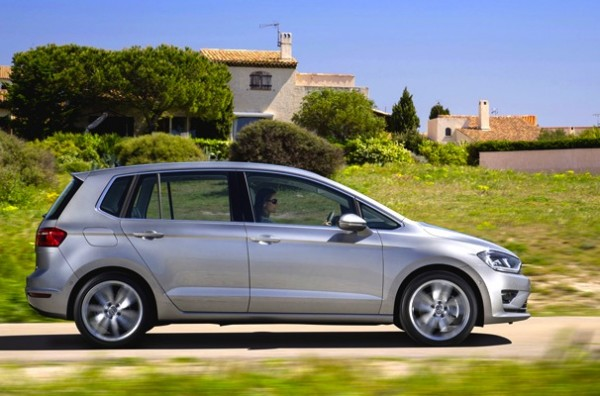 VW Golf Sportsvan Italy July 2014