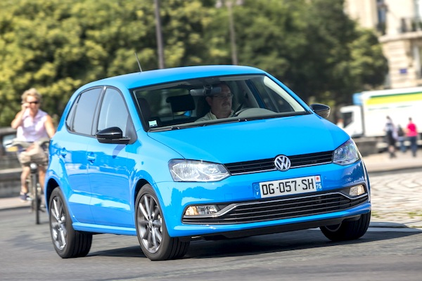 VW Polo Europe September 2014. Picture courtesy of largus.fr