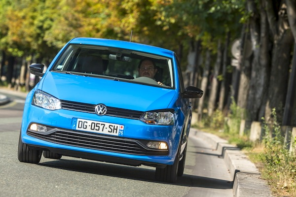 VW Polo Europe October 2014. Picture courtesy of largus.fr