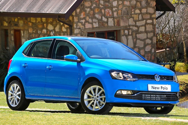 VW Polo South Africa July 2014