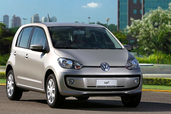 VW Up Brazil July 2014. Picture courtesy of bestcars.uol.com.br