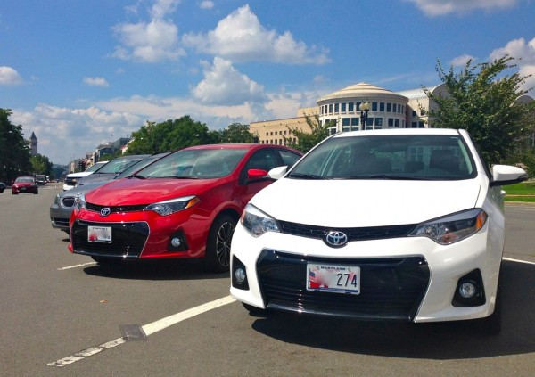 1. Toyota Corolla Washington