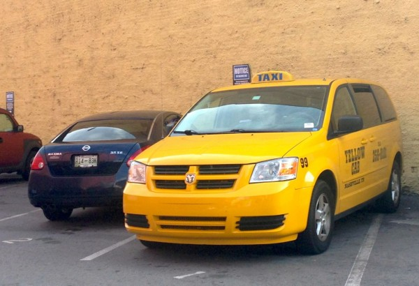 12. Dodge Grand Caravan Taxi Nashville