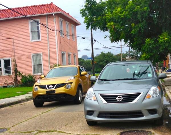 5. Nissan Juke Versa NOLA