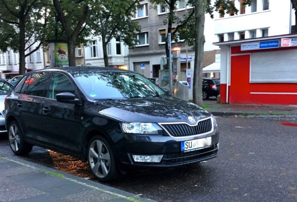 6. Skoda Rapid Spaceback Germany August 2014