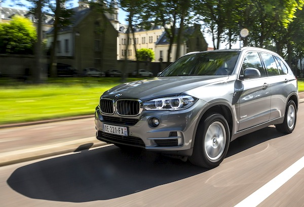 BMW X5 Europe August 2014. Picture courtesy of largus.fr