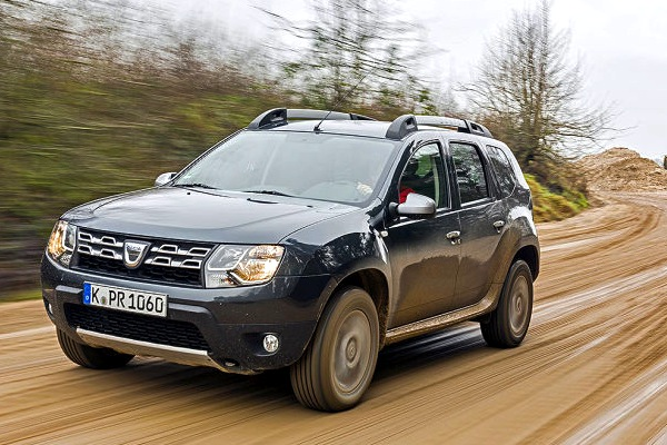 Dacia Duster Serbia August 2014. Picture courtesy of autobild.de