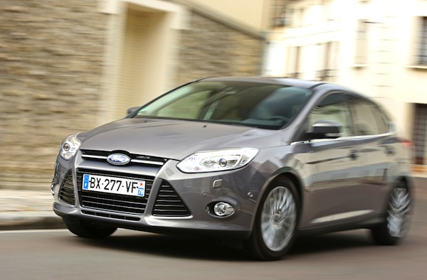 Ford Focus Hungary August 2014. Picture courtesy of largus.fr