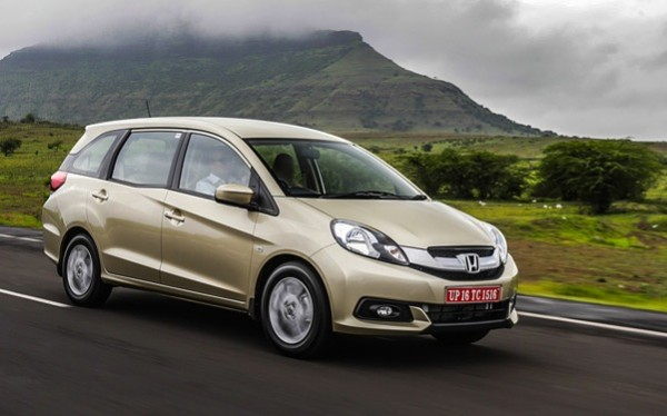 Honda Mobilio India August 2014. Picture courtesy of autox.in