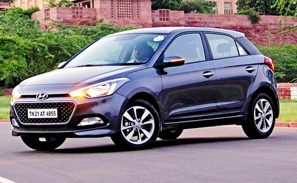 Hyundai Elite i20 India August 2014. Picture courtesy of mid-day.com