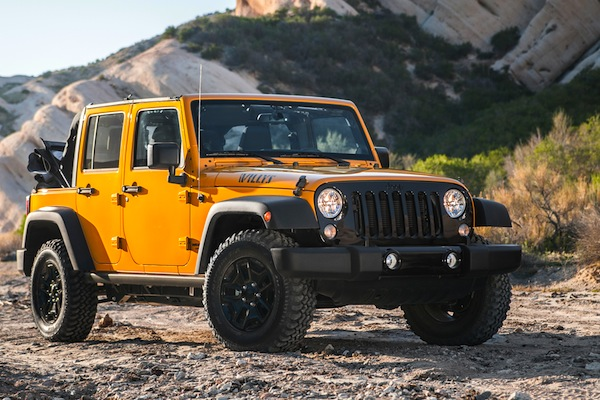 Jeep Wrangler USA August 2014. Picture courtesy of motortrend.com