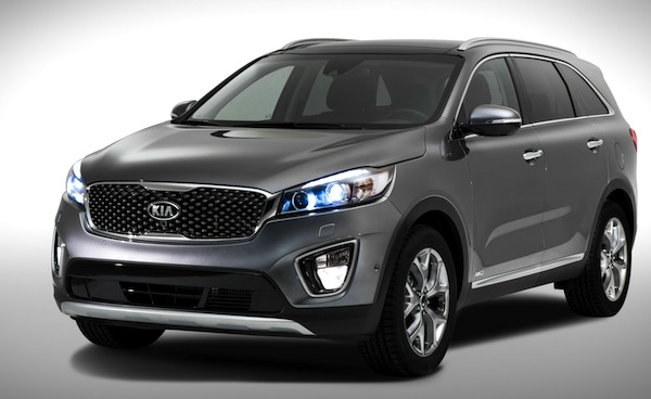 Kia Sorento South Korea August 2014
