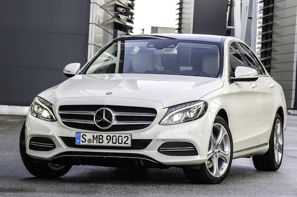 Mercedes C Class Germany August 2014