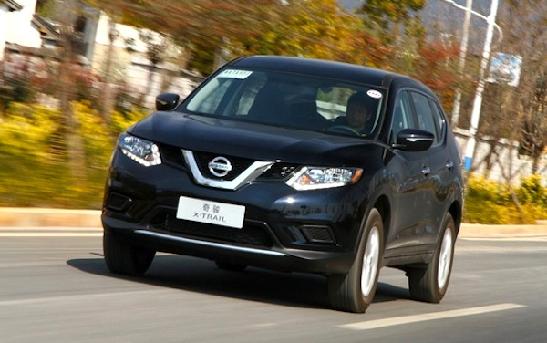 Nissan X-Trail China August 2014