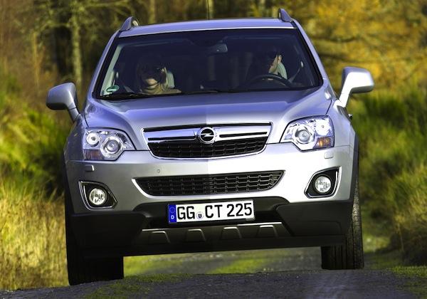 Opel Antara August 2014