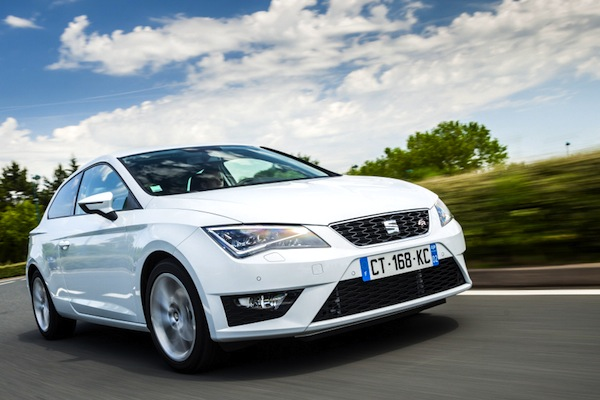 Seat Leon Europe July 2014. Picture courtesy of largus.fr