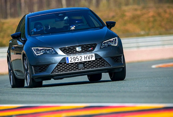 Seat Leon Germany August 2015. Picture courtesy of autobild.de