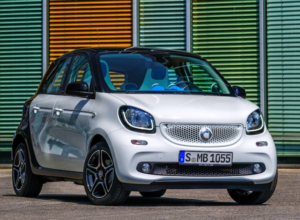 Smart Forfour Germany August 2014