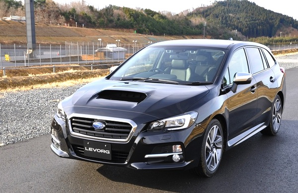 Subaru Levorg Japan August 2014. Picture courtesy of Response.jp