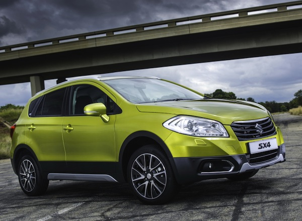 Suzuki SX4 S-Cross New Zealand August 2014