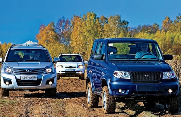 UAZ Patriot Russia August 2014. Picture courtesy of zr.ru
