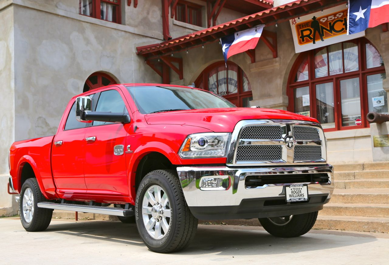 ram 2500 long horn fort worth - Dodge Ram 2500 2014 Red