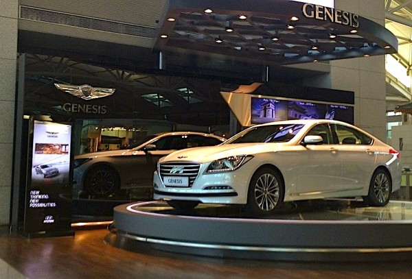 4. Hyundai Genesis Seoul October 2014