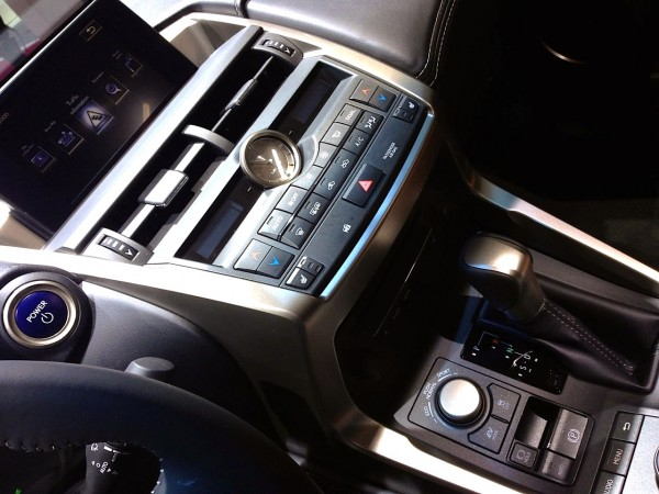 9b. Lexus NX interior