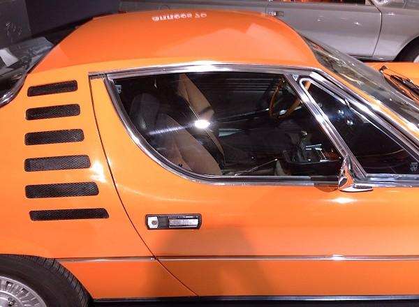 Alfa Romeo Montreal Coupé Bertone detail