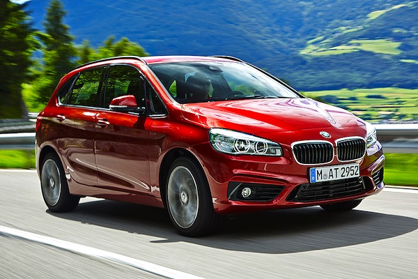 BMW 2 Series Active Tourer Germany September 2014. Picture courtesy of autobild.de