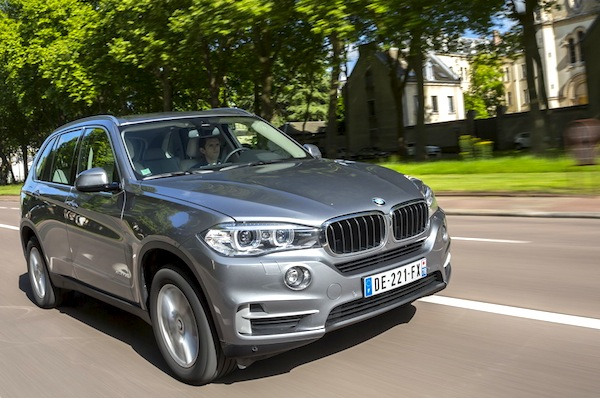 BMW X5 Latvia October 2014. Picture courtesy of largus.fr