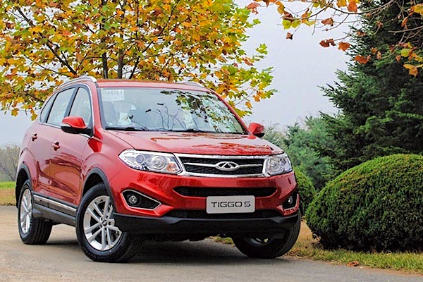 Chery Tiggo 5 China September 2014. Picture courtest if sinaimg.cn