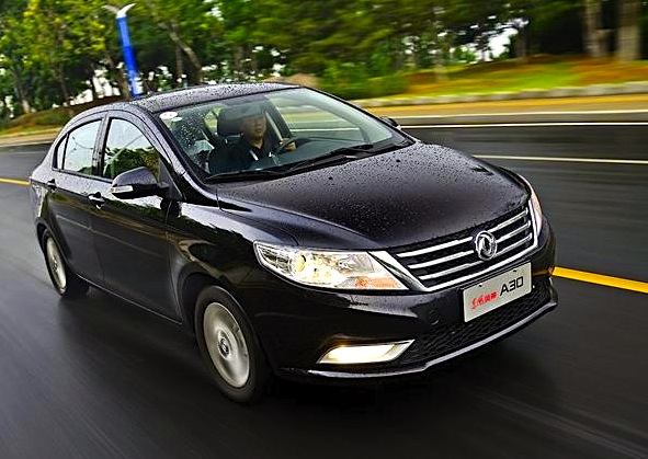 Dongfeng Fengshen A30 China September 2014. Picture courtesy of jllmjt.com