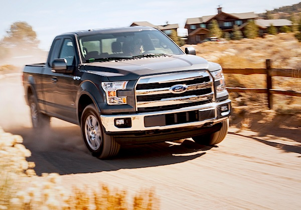 Ford F150 USA September 2014. Picture courtesy of motortrend.com
