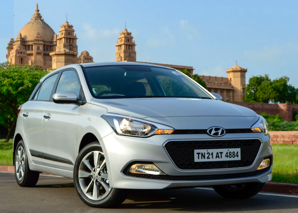 Hyundai Elite i20 India September 2014. Picture courtesy of rushlane.com