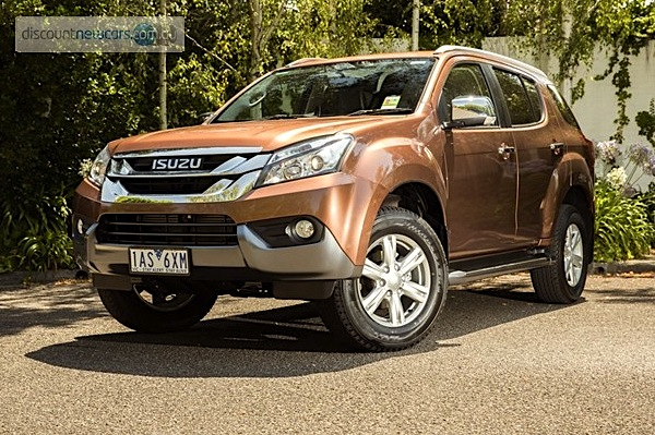 Isuzu MU-X Australia September 2014