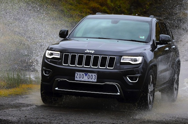 Jeep Grand Cherokee Australia September 2014. Picture courtesy of caradvice.com.au