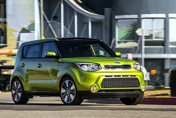 Kia Soul USA September 2014. Picture courtesy of motortrend.com