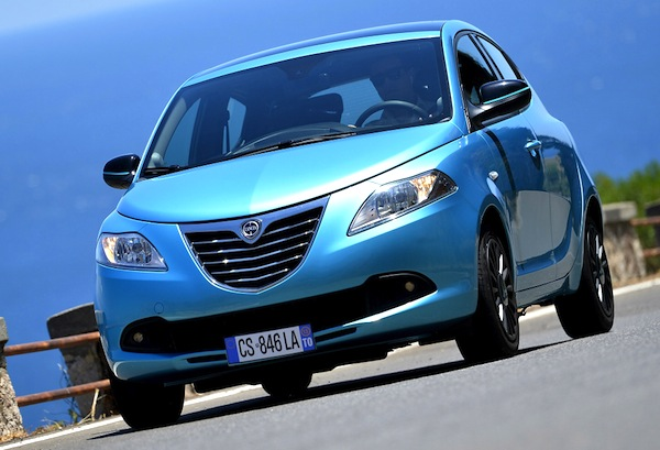 Lancia Ypsilon Italy September 2014