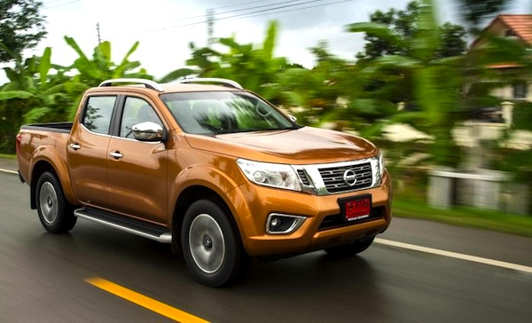Nissan Navara Thailand August 2014. Picture courtesy of caradvice.com.au